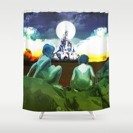 Adventure Finding Keepers Shower Curtain
