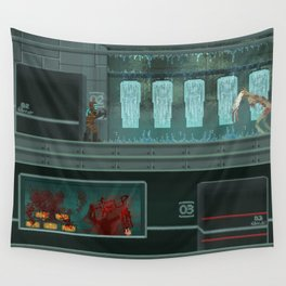 Pixelized: Dead space Wall Tapestry