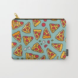 Funny pizza pattern Carry-All Pouch