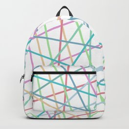 Lazer Dance Colorful Backpack