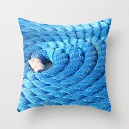 On a long leash Throw Pillow