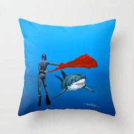 CORRIDA - The Matador - by Pascal Throw Pillow