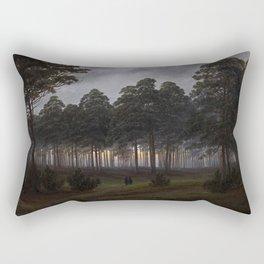 Caspar David Friedrich - The Times of Day - The Evening Rectangular Pillow