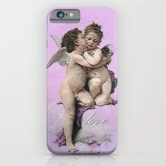 First Kiss Pink iPhone & iPod Case