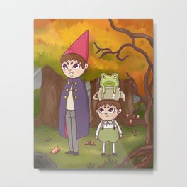 Adventure in the Forest Metal Print