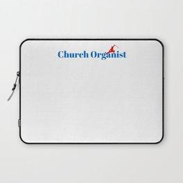 Church Organist Ninja in Action Laptop Sleeve