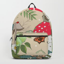 Toadstools in the Woods Backpack
