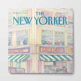 The New Yorker - 05/1988 Metal Print