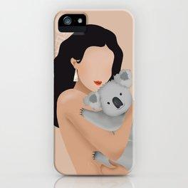 Save our Koalas iPhone Case