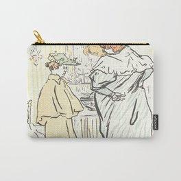 """Henri de Toulouse-Lautrec """"Alors vous êtes sages"""" Carry-All Pouch"""