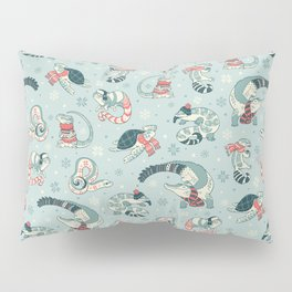Winter herps Pillow Sham