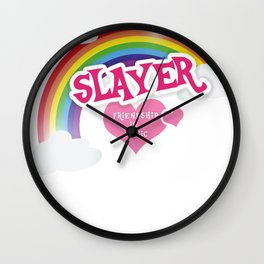 Slayer is lief Wall Clock