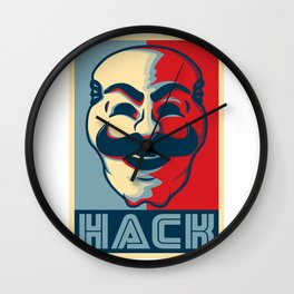 Hack Wall Clock