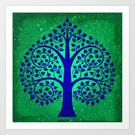 Bodhi Tree0108 Art Print