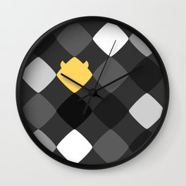 Geometric Rebelion in the Gray World Wall Clock