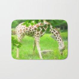 Fractal Giraffe Bath Mat