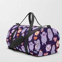 Funny monsters Duffle Bag