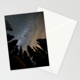 Night sky in Mount Rainier NP Stationery Cards