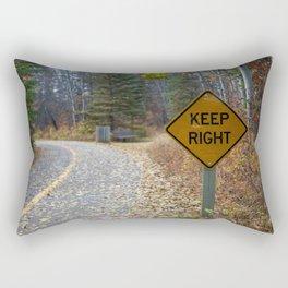 Wrong Turn Rectangular Pillow