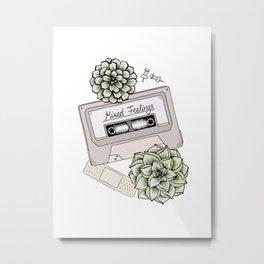 Mixed Feelings Metal Print