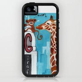 G for Giraffe - Alphabet City  iPhone Case
