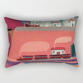 my village Rectangular Pillow