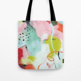 landscape in spring Tote Bag