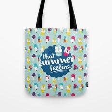 That summer feeling - Blue Tote Bag