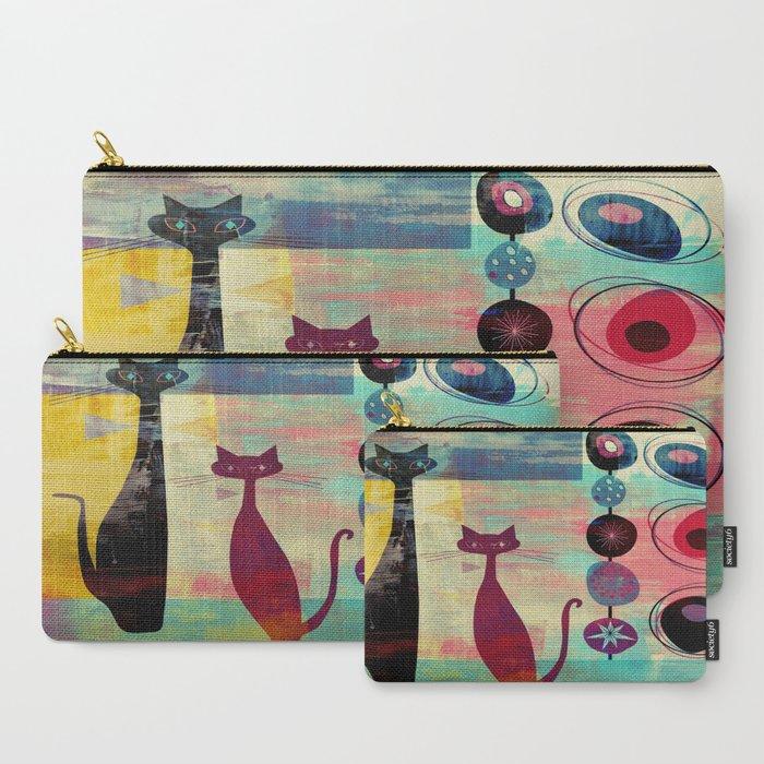 MidCentury_Modern_2_Cats__Graffiti_Style_CarryAll_Pouch_by_oldurbanfarmhouse__Set_of_3