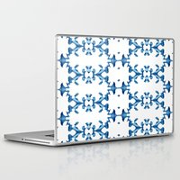 ikat Laptop & iPad Skins featuring Ikat by Lauren Heslop