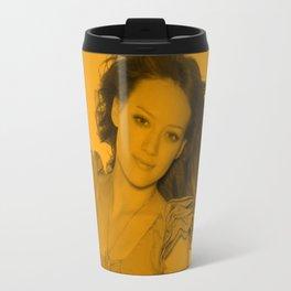 Hilary Duff - Celebrity (Zoom Pose) Travel Mug