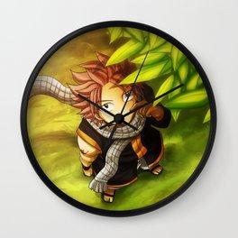 Natsu Dragneel Wall Clock