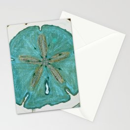 Sand Dollars Ocean Colors Stationery Cards