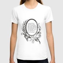 """Jane Austen """"In the Middle"""" T-shirt"""
