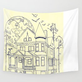 A Florida House Wall Tapestry