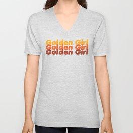 The Golden Girl Unisex V-Neck