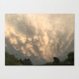 Stormy Clouds - Mammatus Canvas Print