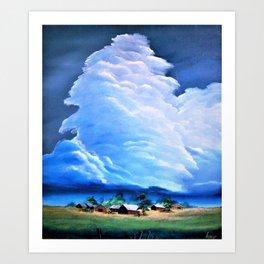 Spawn ... cumulonimbus. Art Print