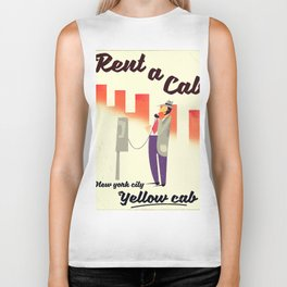 Rent a Cab! New York City Biker Tank