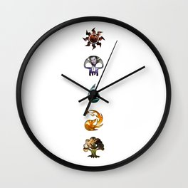 The Gatewatch Wall Clock