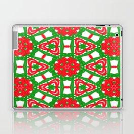 Red, Green and White Kaleidoscope 3372 Laptop & iPad Skin
