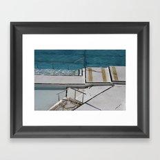 Bondi Icebergs Framed Art Print