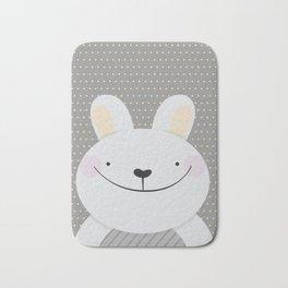 Cute Rabbit Bath Mat