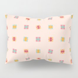 Christmas Present Pastel Pattern Pillow Sham