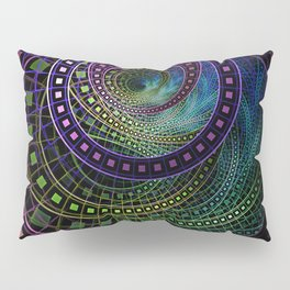 The Fractal Technicolor Rainbow of Oz the Great and Powerful Pillow Sham