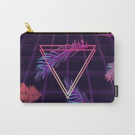 80's Retro Cyberpunk Synthwaves Dominating the Future Carry-All Pouch