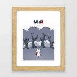 Lūdō Framed Art Print