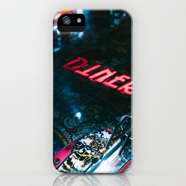 Flipper arcade bar iPhone Case