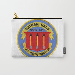 USS NATHAN HALE (SSBN-623) PATCH Carry-All Pouch