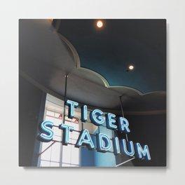 Tiger Stadium  Metal Print